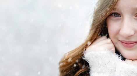 Portraits in the Snow - Metro Detroit Photographer