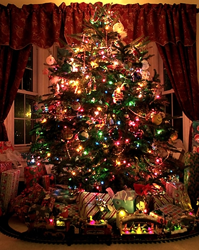 Enter a Photo of Your Christmas Tree for a Chance to Win! how to photograph a christmas tree2