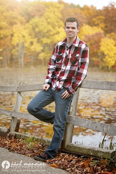 Senior Pictures with Fall Colors