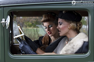 Great Gatsby Vintage Fashion Photography