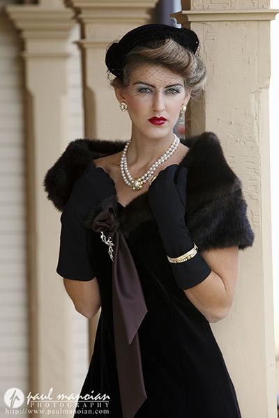 1920s and 1930s Vintage Fashion Photoshoot
