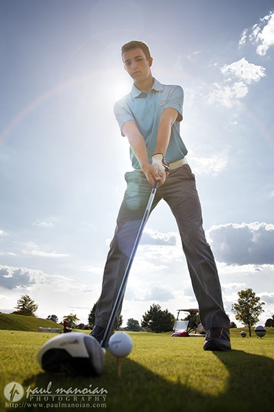 Golf Senior Pictures