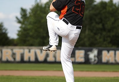 Northville Senior Pictures - Baseball
