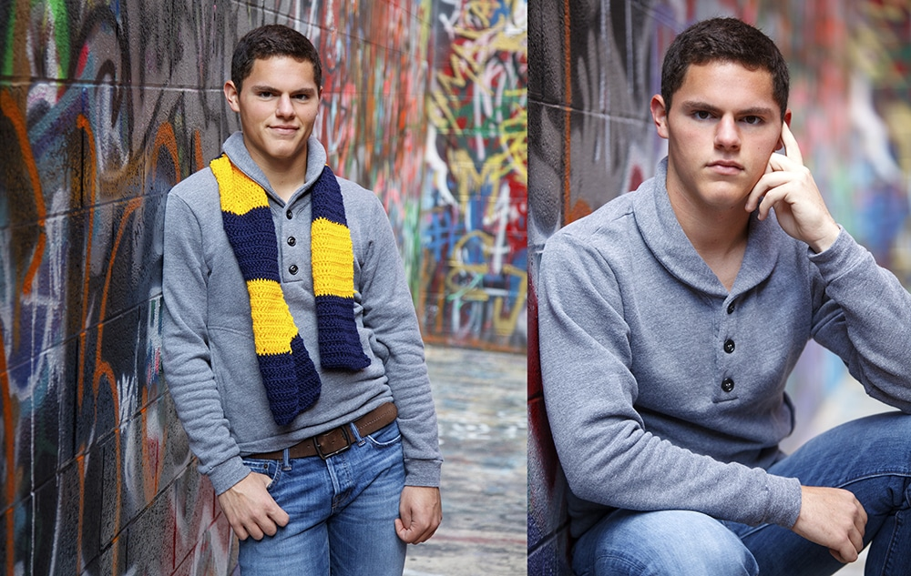 Best Ann Arbor Photographers - Graffiti Senior Pictures
