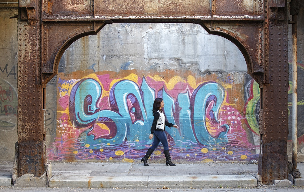 Best Detroit Graffiti Senior Pictures Photographers