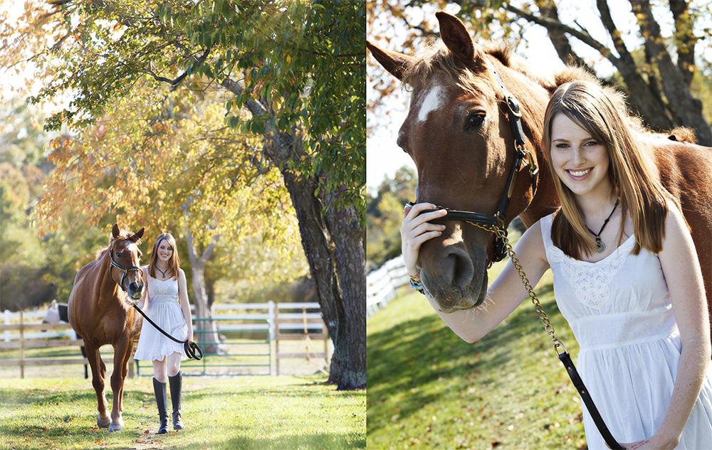 Best Senior Portraits with Horses