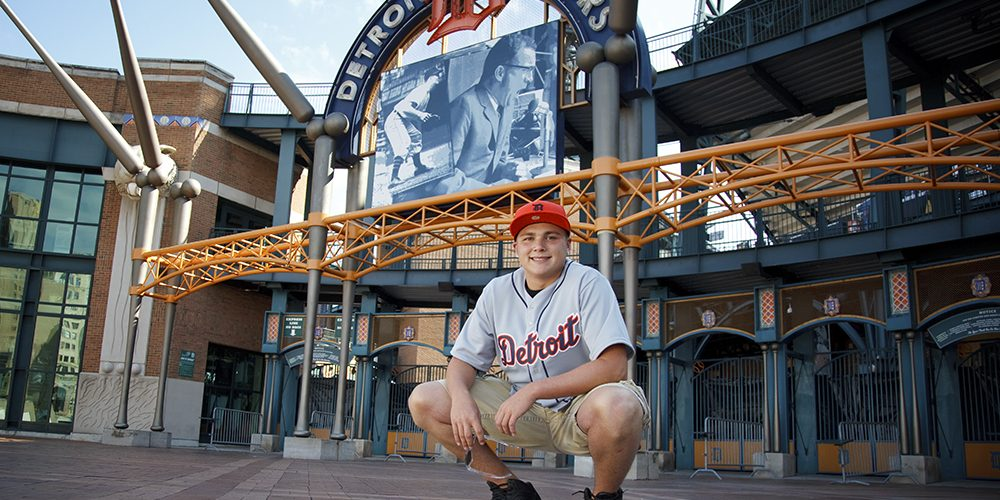 Detroit Tigers Senior Pictures