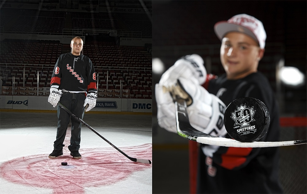 Detroit Red Wings Senior Pictures