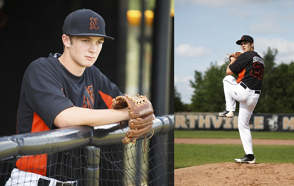 northville senior pictures baseball photographer 1000x633 - Senior Pictures (Just Guys)