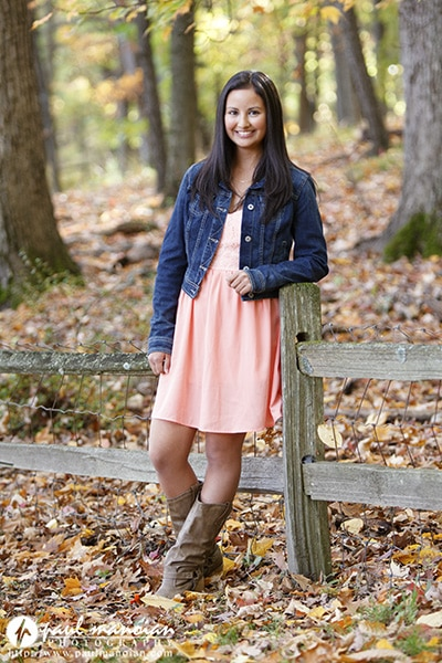 Fall Colors Senior Pictures Photographer