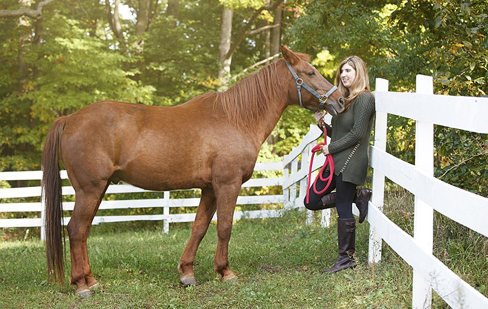 senior pictures horses michigan 20130930a 1000x633 - Senior Pictures with Horses