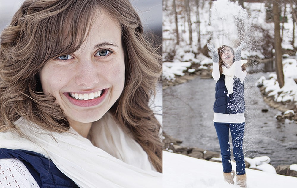 snow senior portraits 20100212 1000x633 - Senior Pictures (Just Rustic)