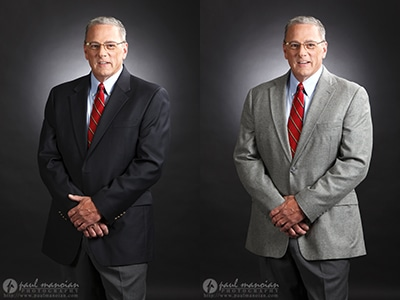 What to Wear for Professional Headshots: Jacket Color?
