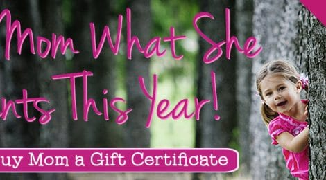 Mother's Day Photography Gift Certificates