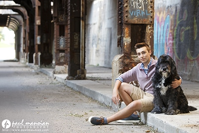 Grosse Pointe Senior Pictures Photographer