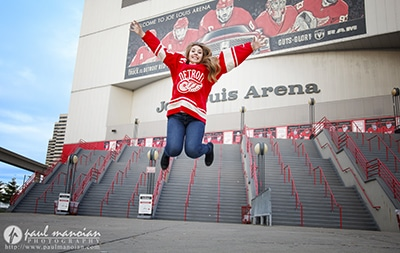 Detroit Red Wings Senior Portraits