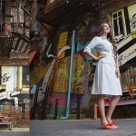 Senior Pictures in Detroit with Graffiti