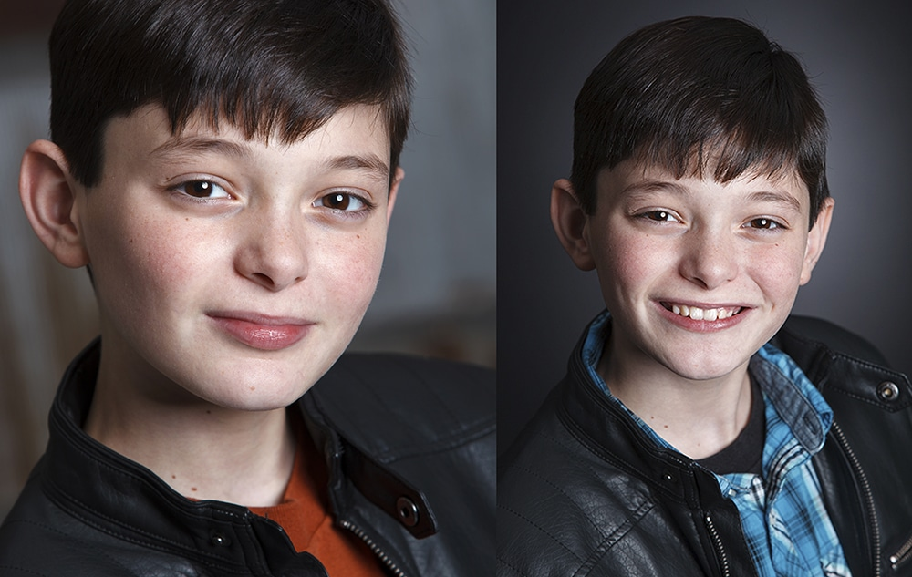 Best Youth Film Acting Headshot -Detroit Photographers
