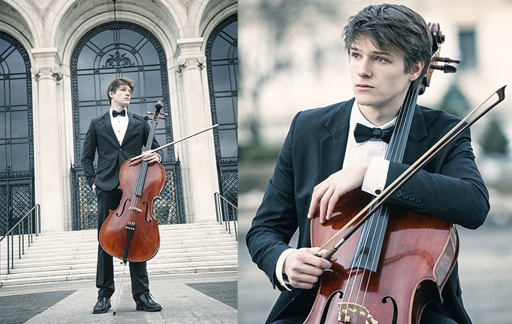 Detroit Orchestra Headshot Photographer - Cello / Cellist