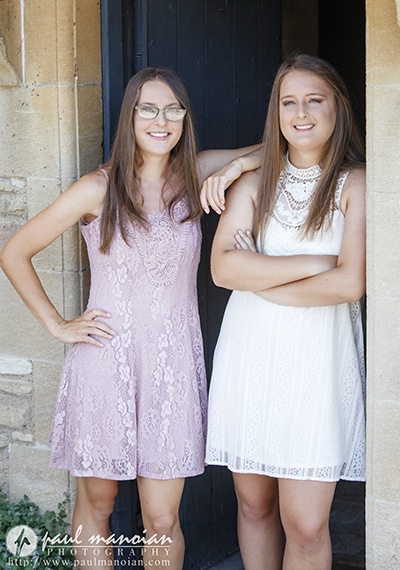 Senior Pictures with Twins - Metro Detroit Photographer