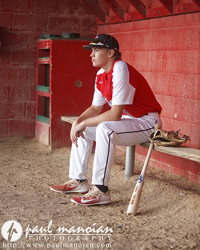 Baseball Senior Pictures - Livonia Photographer
