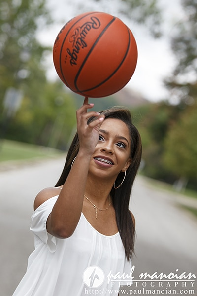 Basketball Senior Portraits Ideas