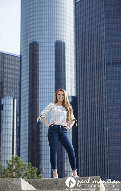 Senior Portraits in Detroit