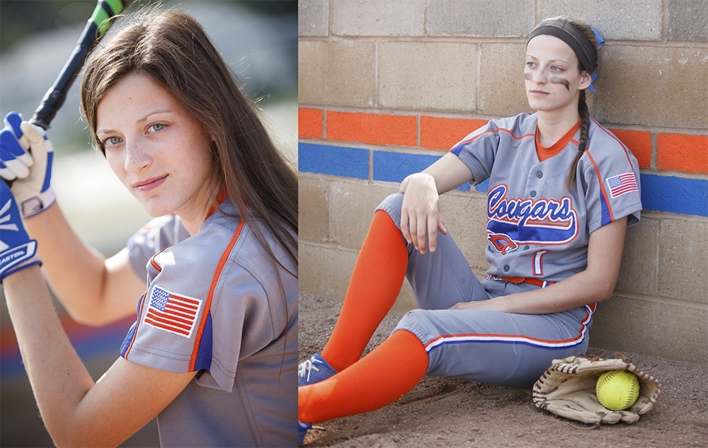 Softball Senior Pictures - Metro Detroit Photographer