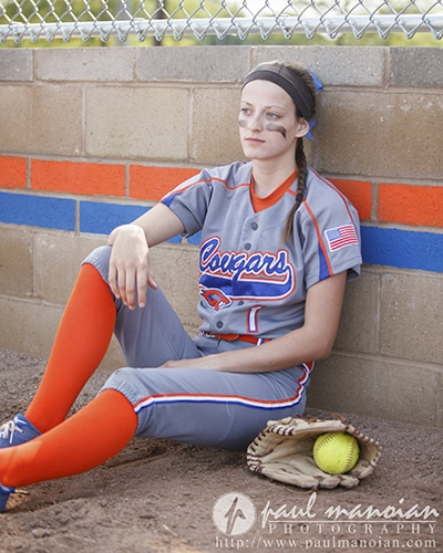 Softball Senior Pictures Ideas - Sports Photography