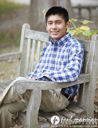 Outdoor Fall Senior Pictures