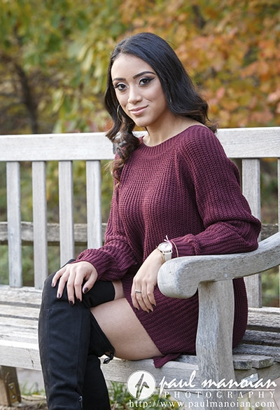 Metro Detroit Fall Senior Portraits