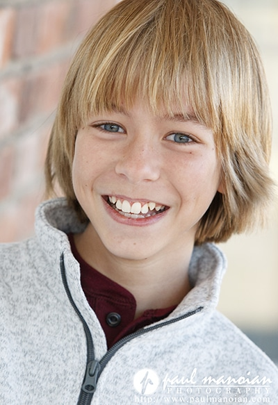 Child Actor Headshots Photographers in Detroit