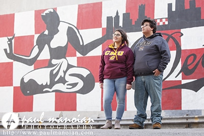 Detroit Senior Pictures for Twins
