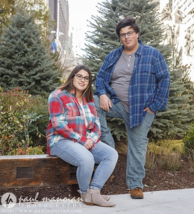 Senior Portraits for Twins - Detroit Photography