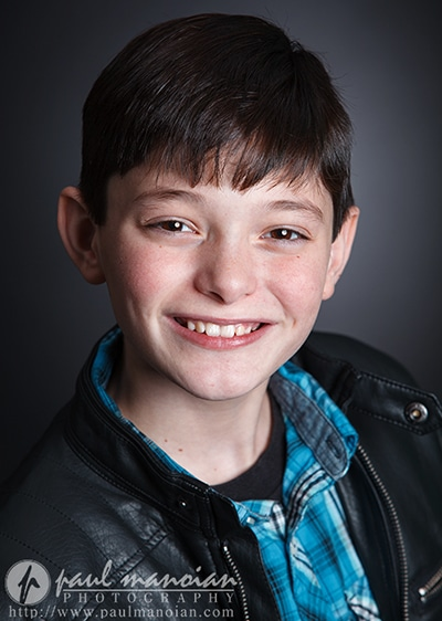 Kids Film Acting Audition Headshots - Detroit Photographers