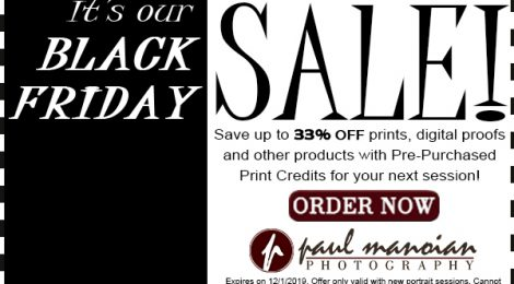 Metro Detroit Black Friday Photographer Specials
