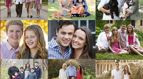 Metro Detroit Fall Family Portrait Special Offers